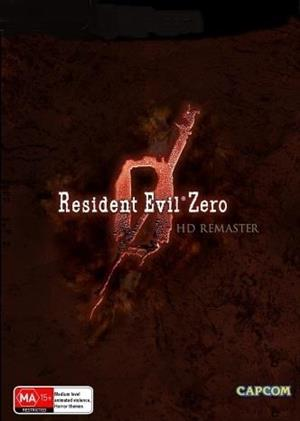 Resident Evil 0 HD Remaster cover art