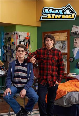 Max and Shred Season 1 cover art