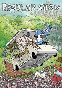 Regular Show Season 8 cover art