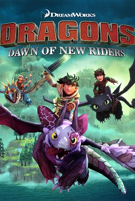 DreamWorks Dragons Dawn of New Riders cover art