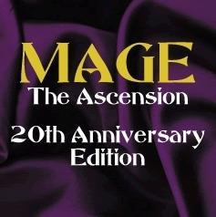 Mage: The Ascension 20th Anniversary Edition cover art