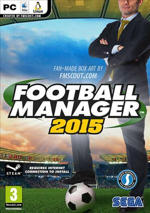 Football Manager 2015 cover art