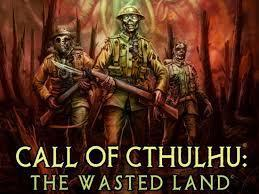 Call of Cthulhu: The Wasted Land cover art