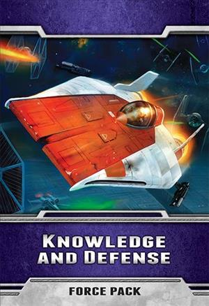 Star Wars: The Card Game – Knowledge and Defense cover art