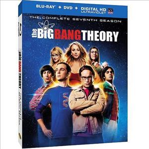 The Big Bang Theory: The Complete Seventh Season cover art