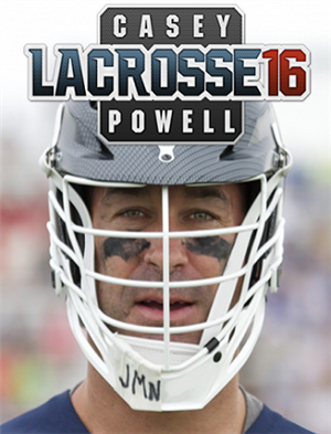Casey Powell Lacrosse 16 cover art