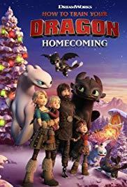 How to Train Your Dragon Homecoming cover art