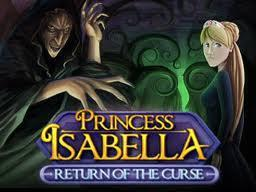 Princess Isabella - Return of the Curse cover art