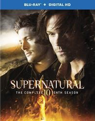 Supernatural: The Complete Tenth Season cover art