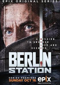 Berlin Station Season 1 cover art