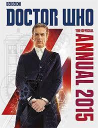The Official Doctor Who Annual 2015 cover art