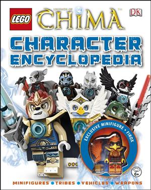 LEGO® Legends of Chima Character Encyclopedia cover art