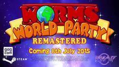 Worms World Party Remastered cover art