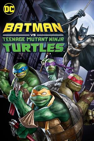 Batman vs Teenage Mutant Ninja Turtles cover art