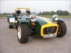 CATERHAM Super Seven S3 cover art
