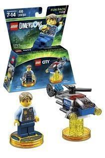 LEGO Dimensions - The Lego City Fun Pack cover art