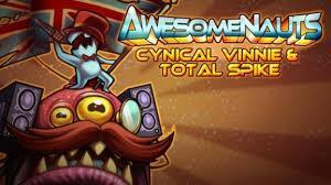 Awesomenauts - Cynical Vinnie & Total Spike cover art