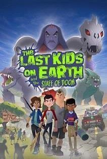 The Last Kids on Earth and the Staff of Doom cover art