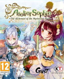 Atelier Sophie: The Alchemist of the Mysterious Book cover art