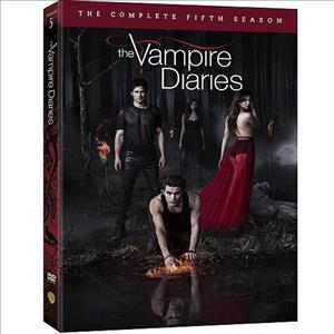 The Vampire Diaries: The Complete Fifth Season cover art