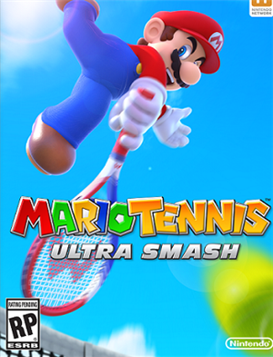 Mario Tennis: Ultra Smash cover art
