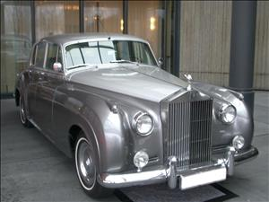ROLLS-ROYCE Silver Cloud I cover art