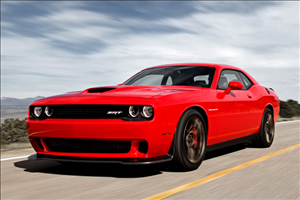 2015 Dodge Challenger Hellcat cover art