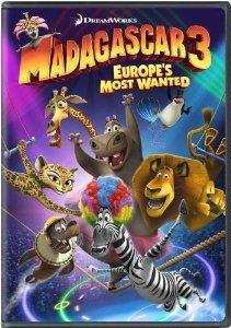 Madagascar 3: Europe's Most Wanted cover art
