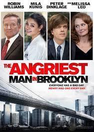 The Angriest Man in Brooklyn cover art