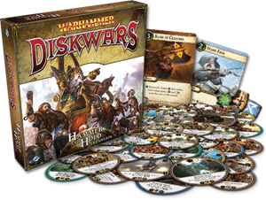 Warhammer: Diskwars – Hammer and Hold cover art