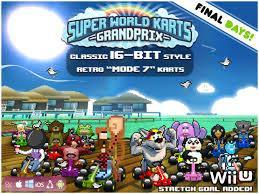 Super World Karts cover art