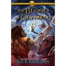 The Blood of Olympus (Rick Riordan) cover art