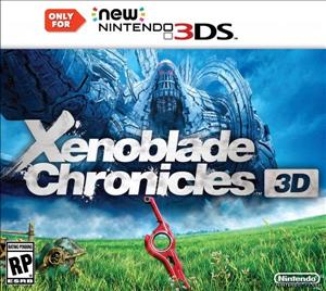 Xenoblade Chronicles 3D cover art