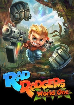 Rad Rodgers: World One cover art