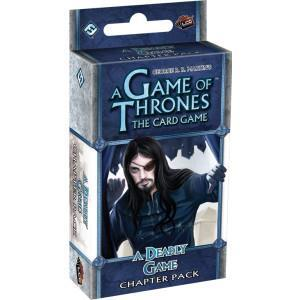 A Game of Thrones: The Card Game – A Deadly Game cover art