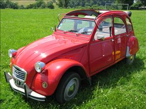 CITROEN 2CV cover art