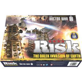 Risk: The Dalek Invasion of Earth cover art