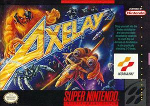 Axelay cover art