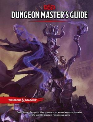 D&D Dungeon Master's Guide (Core Rulebook) cover art