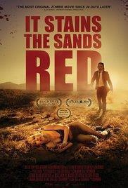 It Stains the Sands Red cover art