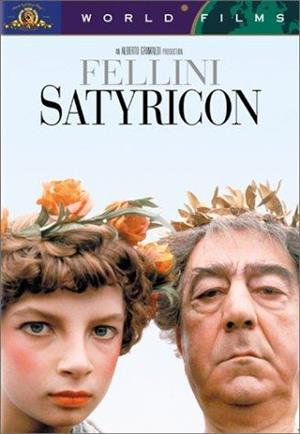 Fellini Satyricon cover art
