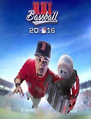 R.B.I. Baseball 2016 cover art