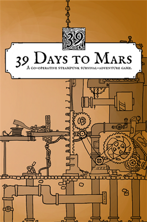 39 Days to Mars cover art