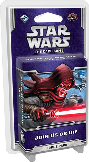 Star Wars: The Card Game – Join Us or Die cover art