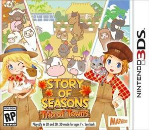 Story of Seasons: Trio of Towns cover art
